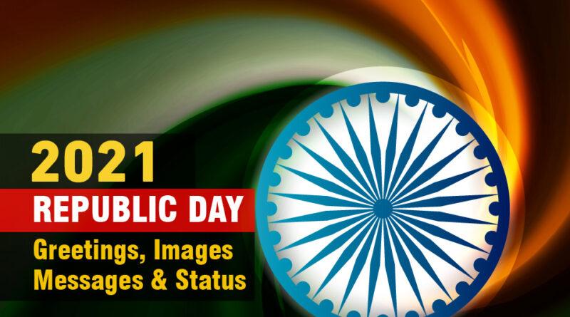 Republic Day 2021 greetings